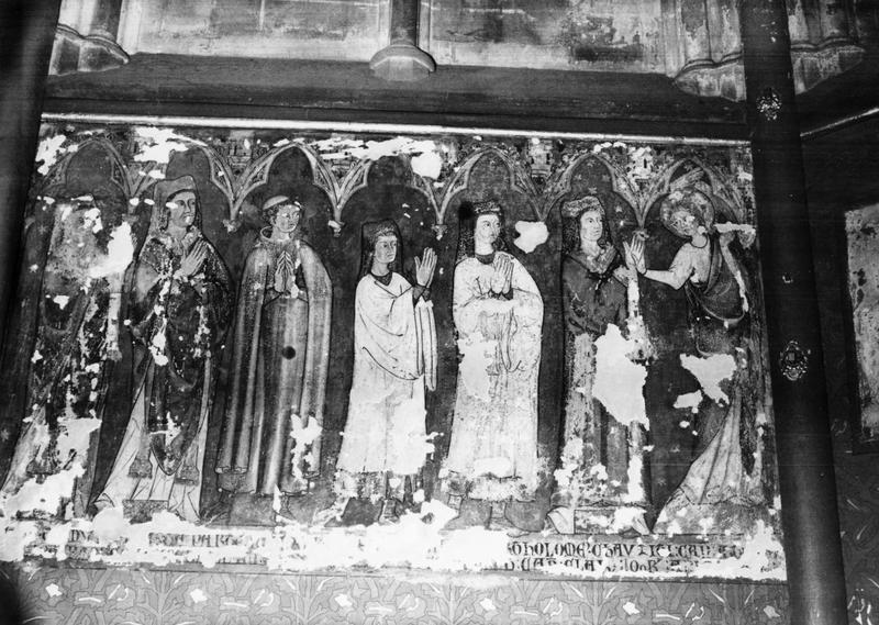 Peinture monumentale de la chapelle Notre-Dame-de-Pitié