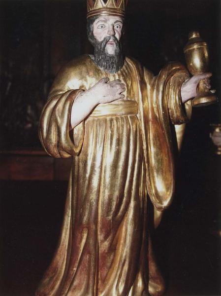 Statue de la crèche de Noël : Balthazar, roi mage