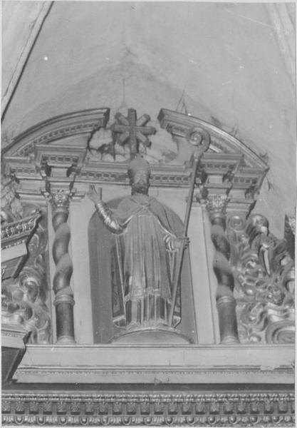 Statue : saint Germain, vue générale