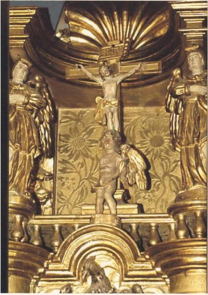 Maître-autel, détail
