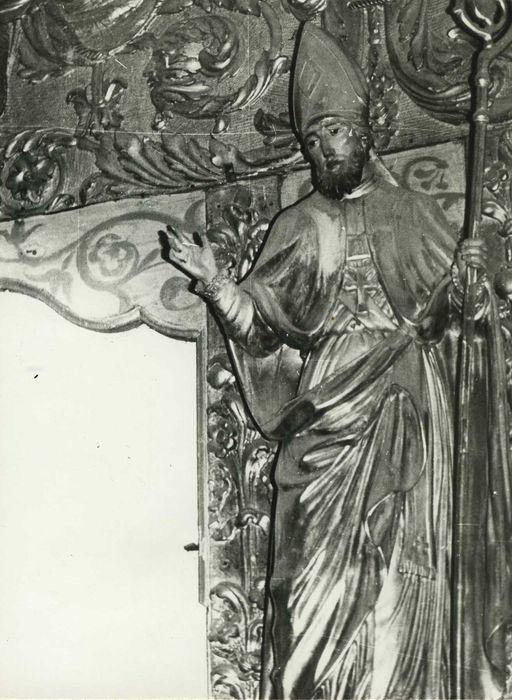 Statue : Saint Grat évêque