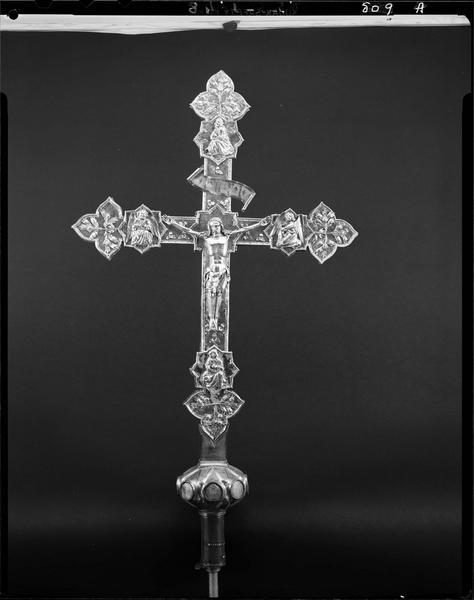 Croix de procession (n° 1), face