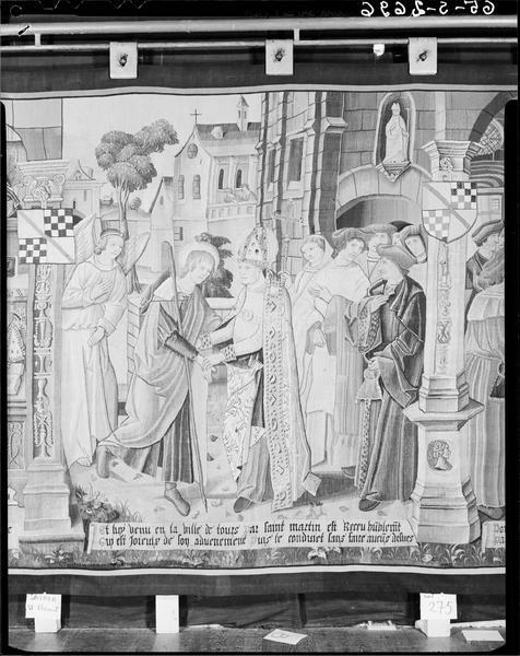 6 pièces murales : Scènes de la vie de saint Florent