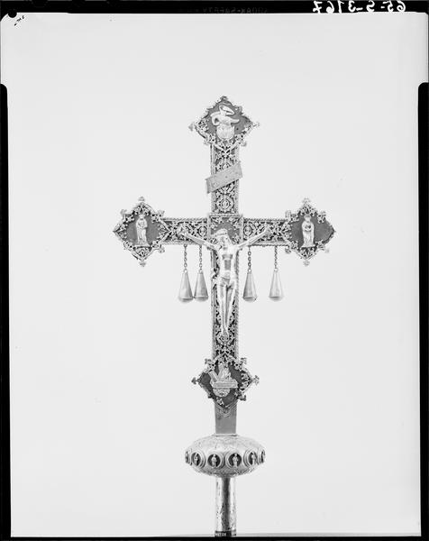 Croix de procession, face