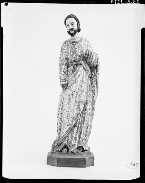 Statue (statuette) : Personnage en ivoire (Christ?) (appelé précédemment : croix (crucifix))