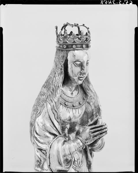 statuette : Vierge de Notre-Dame du Puy, socle