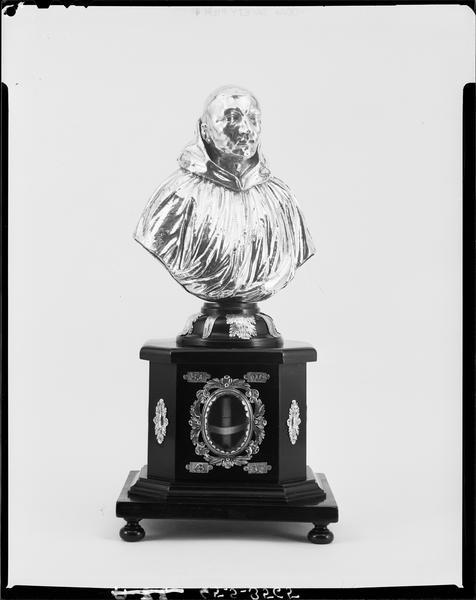 buste-reliquaire de saint Valéry
