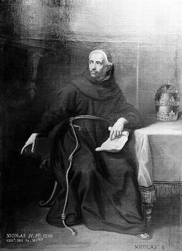 Tableau : le pape Nicolas IV