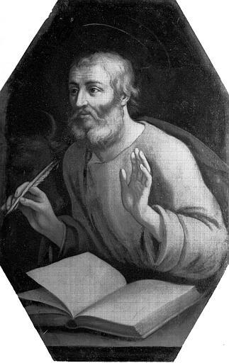Tableau : les quatre évangélistes