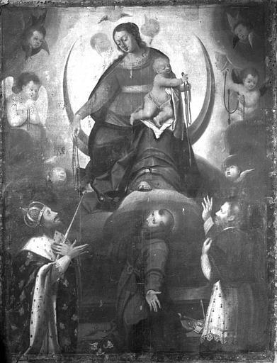 Retable, tableau du Voeu de Louis XIII
