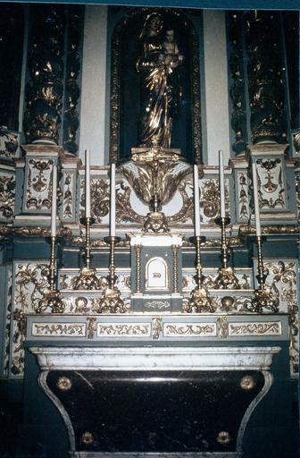 Retable de Notre-Dame-du-Mont-Carmel, statues