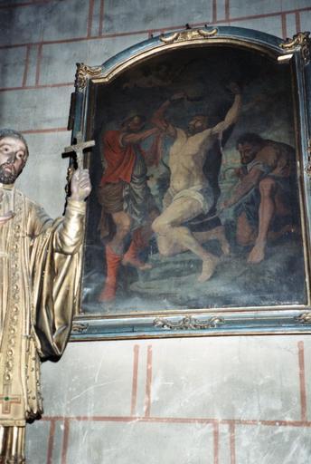 tableau : martyre de saint Barthélémy (le)
