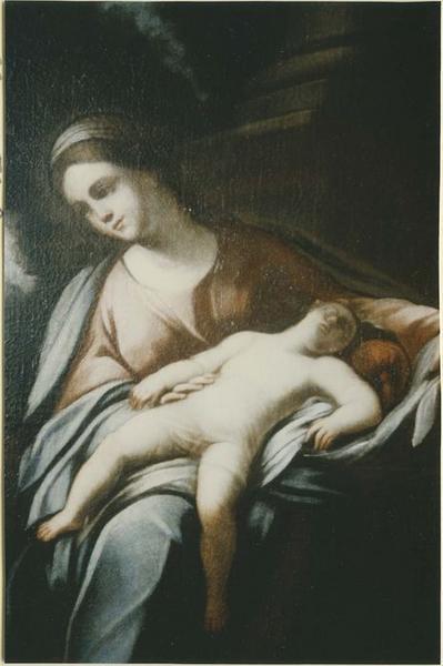 Tableau: Sainte Famille (la), détail