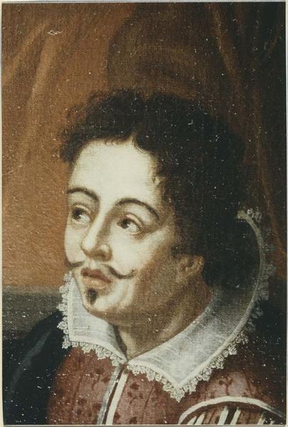 Tableau : L'entrevue de Pie V et Don Juan d'Autriche, détail