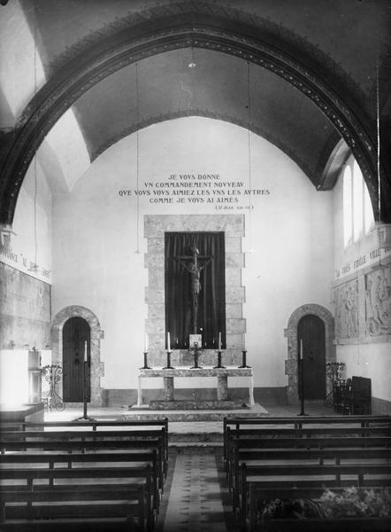 vue générale de la chapelle du devôt Christ