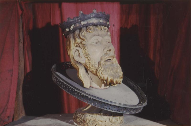 chef-reliquaire de saint Jean-Baptiste, vue générale