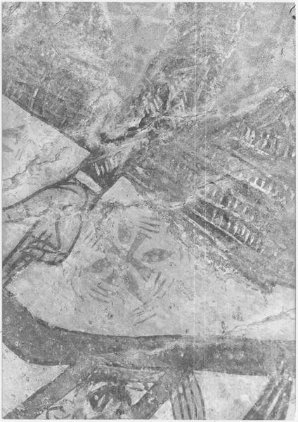 Peintures monumentales : Christ en gloire entouré d'anges