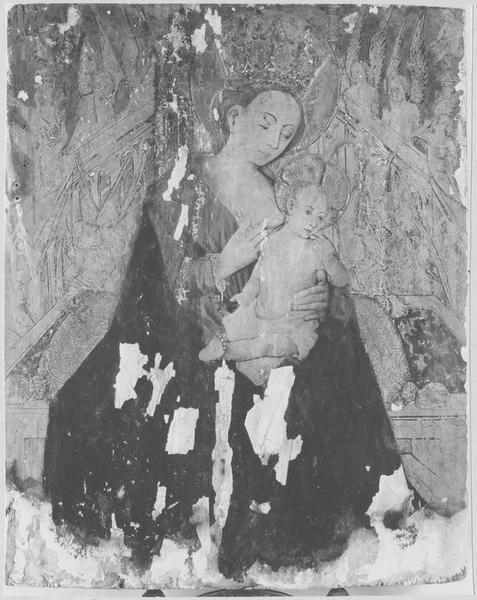 Tableau : Vierge allaitant (la)