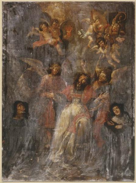 Tableau : l'Extase de saint Augustin