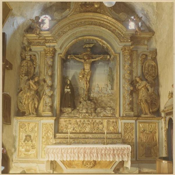 Retable du Christ en croix