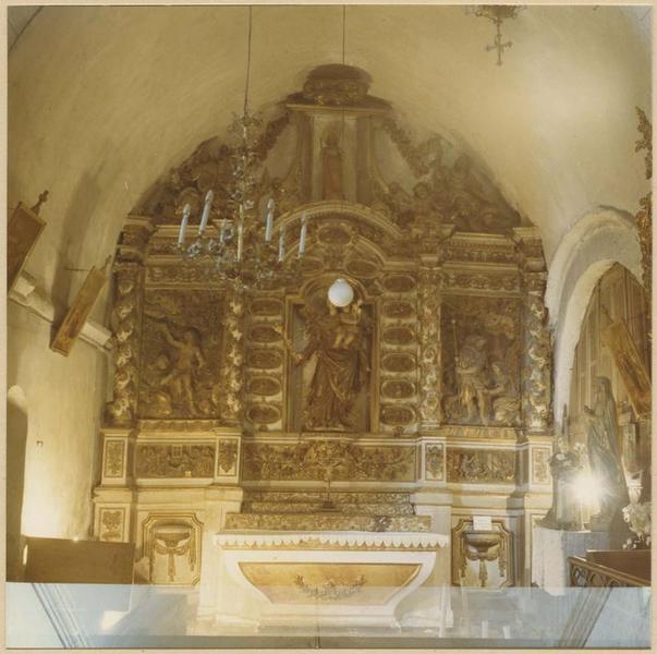Retable de la Vierge-du-Rosaire