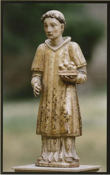 Statuette-reliquaire : saint Etienne