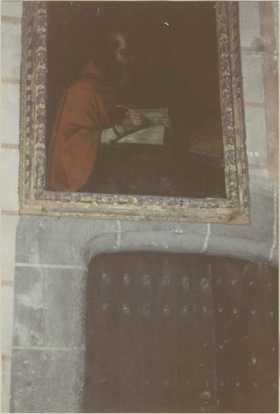 tableau : saint Jérôme écrivant la Vulgate, vue générale