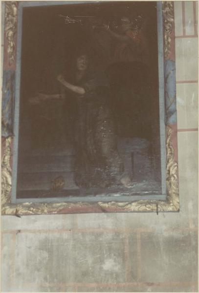 Tableau : Vierge couronnée de roses (la), vue générale