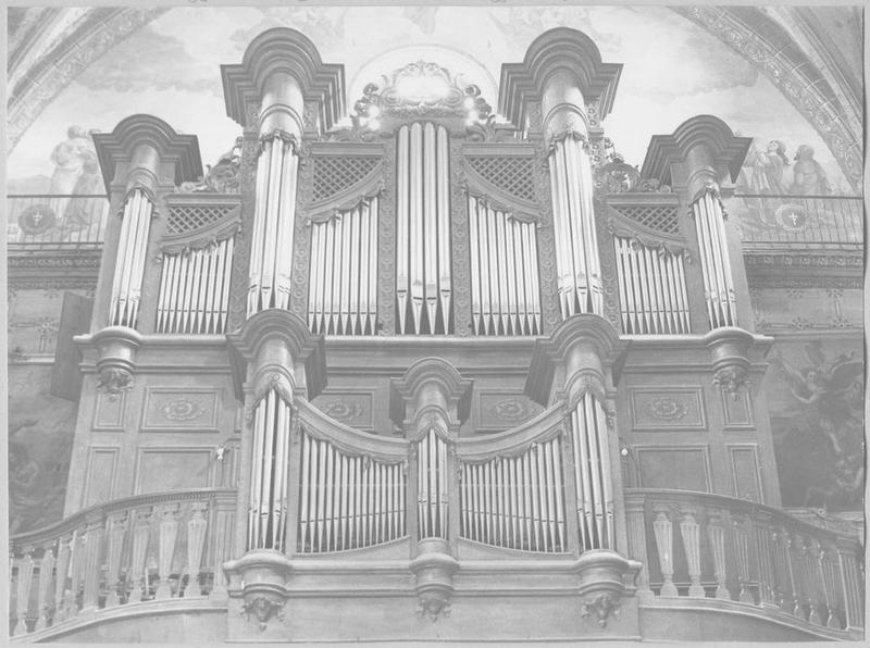 orgue de tribune vue générale