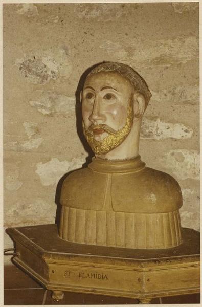 Buste-reliquaire : saint Flamidia