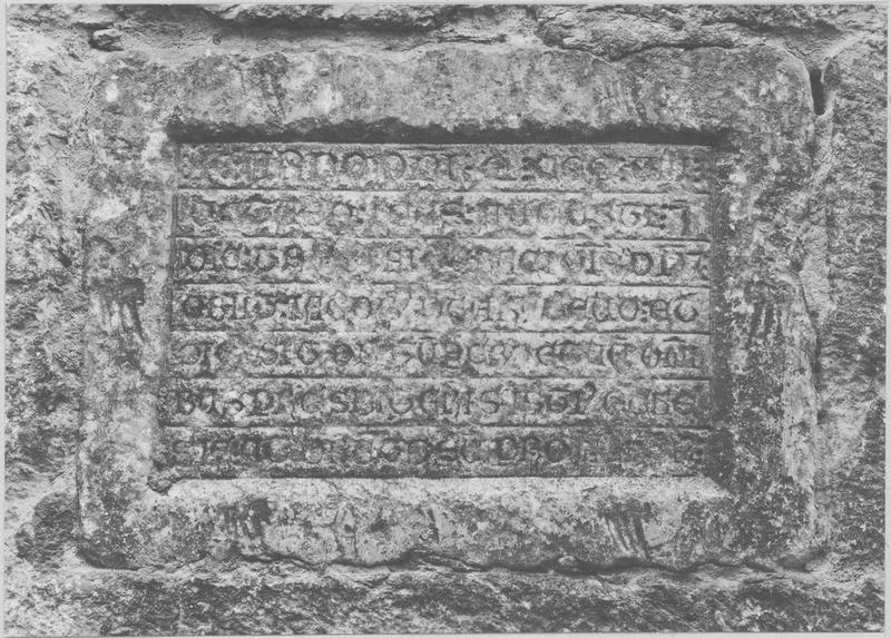 Plaque funéraire de Jacques de Ralleu
