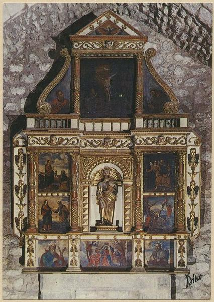 Retable de saint Pierre, tableaux
