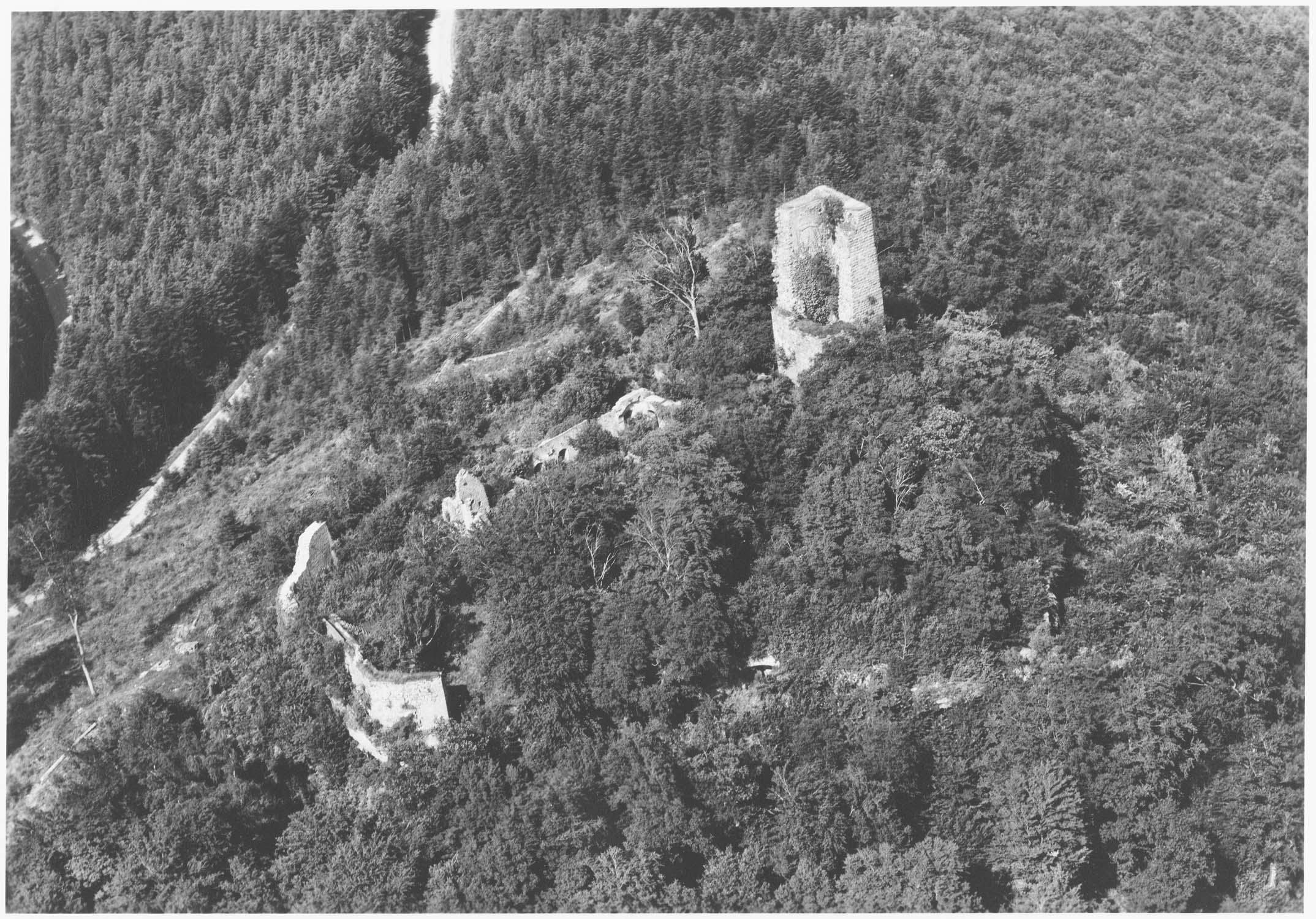 Ruines au sud de Saverne