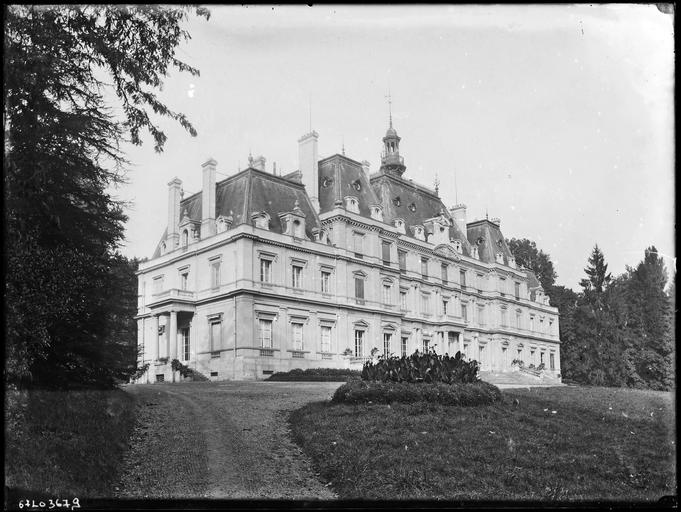 Château de Lormoy, actuellement maison de retraite