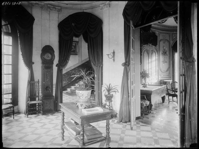 Intérieur : décoration d'antichambres