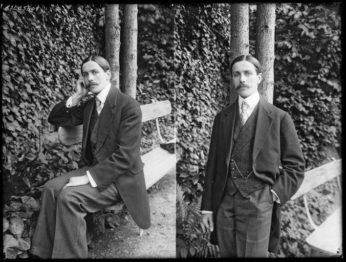 Portrait de sa famille : deux portraits de son fils Robert#
