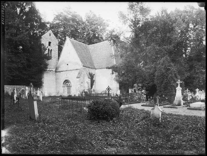 Chapelle et cimetière