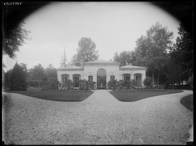 Parc : orangerie
