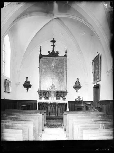 Chapelle : l'autel