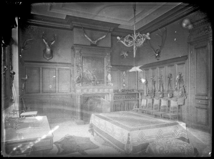 Intérieur : décoration d'une chambre