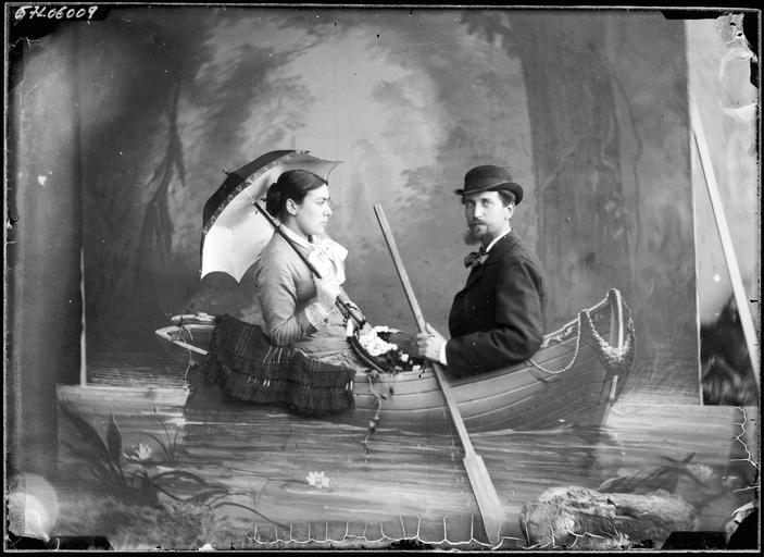 Portrait de sa famille : Lemaire et sa femme#