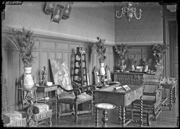 Intérieur : décoration d'un bureau