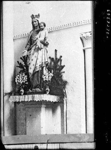 Statue de Notre-Dame d'Aigues-Vives : Vierge à l'Enfant