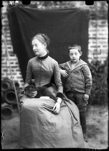 Portrait de Mademoiselle d'Achon et de son frère