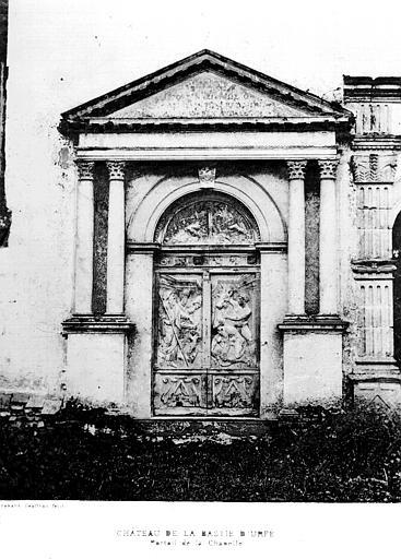 Deux panneaux de porte (vantaux) : Moïse consacrant l'autel d'Aaron