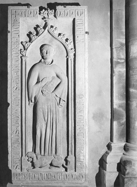 dalle funéraire de Conrad de Gugenheim