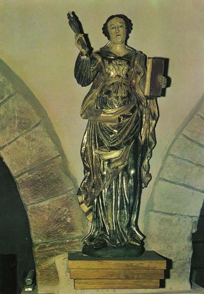 statue : sainte Apolline