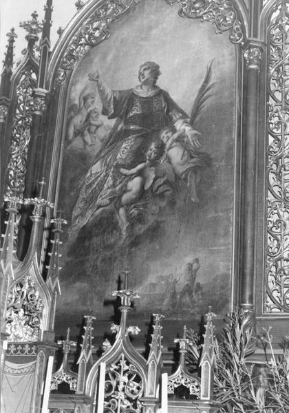 tableau : glorification de saint Etienne