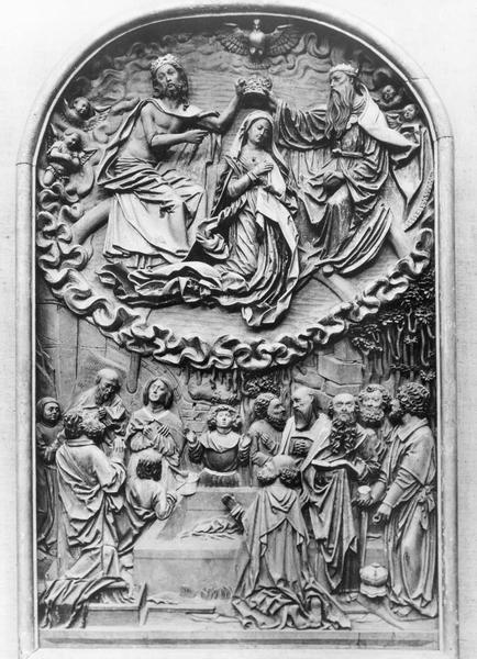 bas-relief : Assomption de la Vierge