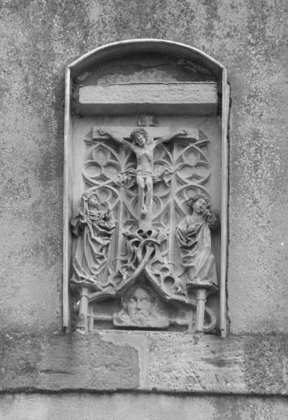 haut-relief : calvaire, Sainte Face